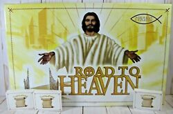 Road To Heaven Board Game Ages 8 And Up 2-6 Players 3 Extra Card Sets - Brand New