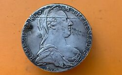 Vintage Trench Art 1780 Austria Maria Theresa Cigarette Lighter Silver Coin