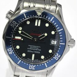 Omega Seamaster Professional Co-axal 300m Automatic Date Watch 2222.80 Used