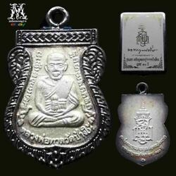 Phra Luang Phor Thuad Lp Tuad Good Luck Coin Real Temple-box Thailand Pendant