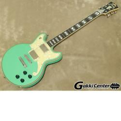 D'angelico Deluxe Brighton Limited Edition、 Matte Surf Green Electric Guitar