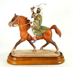 Rare Beswick Bedouin Arab Connoisseur Horses Series 2275 Made In England