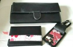 Mary Kay Large Removable Snap Strap Shoulder Wallet with Mary Kay Logo