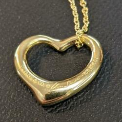 And Co. Elsa Peretti Bean Necklace Pendant K18 Gold 750 Bean From Japan