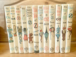 Set Of 12 Wizard Of Oz Books By L. Frank Baum - The Reilly And Lee Co