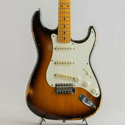 Scoop Creation Works St-and03954 Used Ash Body Maple Fingerboard W/hard Case