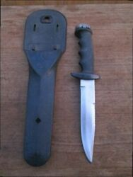 Very Sharp Vintage 1960's Dacor Scuba Diving Diver's Bowie Knife Made In Japan