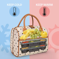 Portable Insulated Lunch Bag For Women Men Kids Tote Cooler Food Box Waterproof $9.99