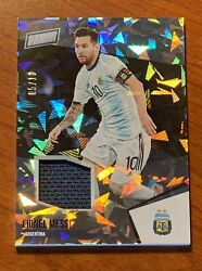 2021 Panini National Vip Silver Lionel Messi And039d/10 Patch Cracked Ice 41 Ssp🔥