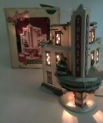 Department 56 A Christmas Story Village Lighted Building The Uptown Theater