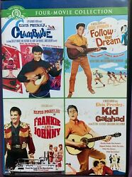 Elvis Presley Mgm 4 Movie Collection Dvd Oop Rare Htf Best Price Free Shipping