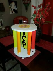 Rare Vintage Shell Gas Station Pump Spinner Topper Advertising New Old Stock