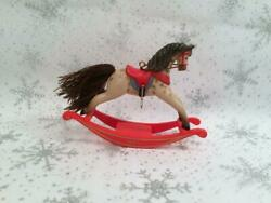 Hallmark 1981 Rocking Horse Christmas Ornament First In Series