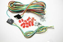 25ft Flat 4 Way Connection Wiring Kit Extension For Trailer Car Vehicle Harness