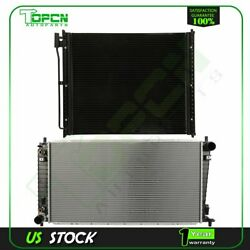 Fits Ford F-250 Super Duty F-350 Replacement Radiator And Condenser Assembly