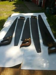 Antique Logging Saw Collection 5