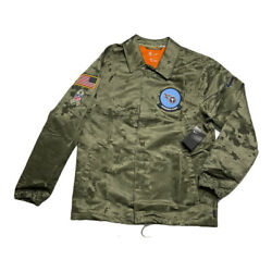 Nike Nfl Salute To Service Tennessee Titans Camo Jacket Menand039s Large