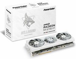 Powercolor Hellhound Spectral White Amd Radeon Rx 6700 Xt Gaming Graphics Card
