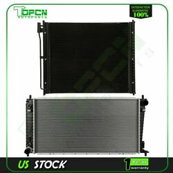 Fits Ford F-250 Super Duty F-350 Super Duty Replacement Radiator And Condenser