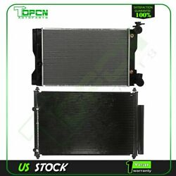 Fits Toyota Corolla Matrix Replacement Radiator And Condenser Cooling Assembly