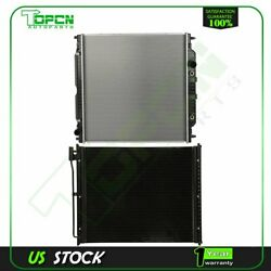Fits Ford Excursion F-250 F-350 F-450 Replacement Radiator And Condenser Assembly