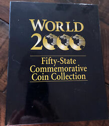 Fifty State Commemorative Quarters Full Set 50 Coins World 2000 Excellent