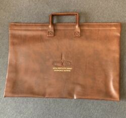 Vintage 1981 Kentucky Derby Satchel 107th Ky Derby Showing Twin Spires