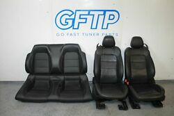 2019 18-20 Ford Mustang Gt 5.0l Complete Seat Set Front Rear Upper Lower Factory