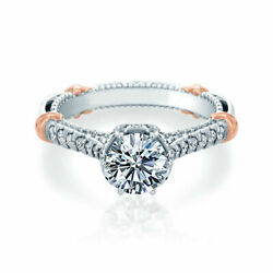 Real 0.95 Ct Diamond Wedding Rings For Women Solid 14k White Gold Ring Size 7 8