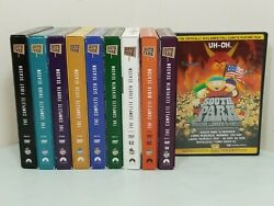 South Park Tv Series Lot Seasons 1 3 4 5 6 7 8 9 11 And 1 South Park Dvd