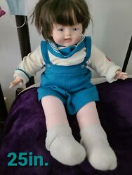 Vintage Madame Alexander Soft Body And Vinyl Limbs And Head Baby Boy Doll Cute