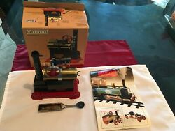 Mamod Steam Engine Sp1 W/ Original Box And Booklet. Made In England