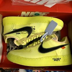 Nike Air Force 1 Low Volt Offwhite 8.5 New