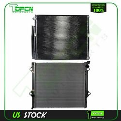 Fits 2003-2009 Toyota 4runner Replacement Radiator And Condenser Assembly