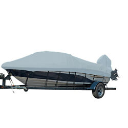 Carver Performance Poly-guard Styled-to-fit Boat Cover F/21.5and039 Grey