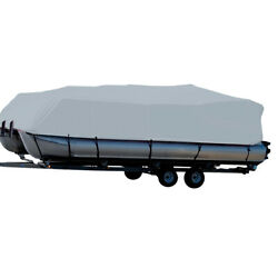 Carver Performance Poly-guard Styled-to-fit Boat Cover F/24.5and039 Grey 77524p-10