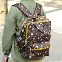Totoro Leaf Series Compact Backpack Ship With Tracking Number