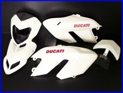 2009 Hypermotard 1100s Genuine Exterior Set Front Cowl Shroud Tail Wing Yyy