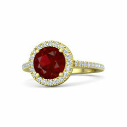 Sale Offer 2.50ct Natural Gemstone Ruby 14k Solid Yellow Gold Ring Size 6.5 8 7