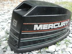 Mercury Outboard 9 Hp Hood Top Cowl - Used Condition