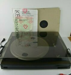 Kenwood Kd-291r Turntable Vinyl Record Player New Unused Condition No Box