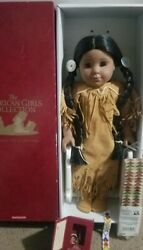 American Girl Pleasant Co Indian Kaya Doll Early Edition In Box