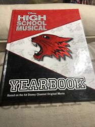 East High Yearbook By Emma Harrison 2007, Hardcover, Disney High School Musical
