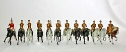 Britains Toy Lead Band Of Life Guards Mounted, 101 T=12. 1-earred Horses 1905
