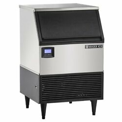New Maxx Ice Mim260n Self-contained Ice Machine Commercial Ice Maker Full Cube