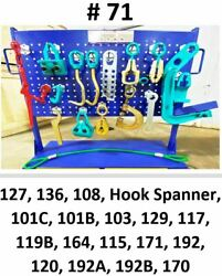 Set71 Auto Body Frame Machine 18 Piece Pulling Tools And Clamps Set