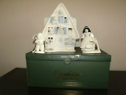 Disney And Dept 56 Snow White And The Seven Dwarfs Snowbabies Limited Ed.-numbered