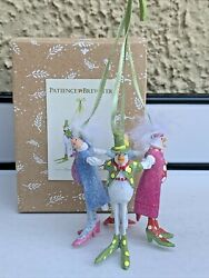 Patience Brewster Krinkles 12 Days Christmas 4 Calling Birds Ornament DAMAGE