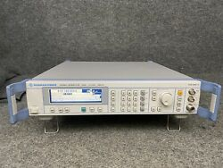 Rohde And Schwarz Sml 03 1090.3000.13 Signal Generator In Excellent Condition