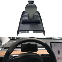 12v 15w Iron Gray Pc Car Dashboard Wireless Phone Charger For Tesla Model 3/y